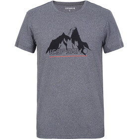 Icepeak Bayport T-Shirts Men, lead-grey